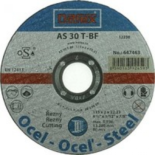 Výrobek Řezný kotouč na ocel rovný Narex 115 00647463