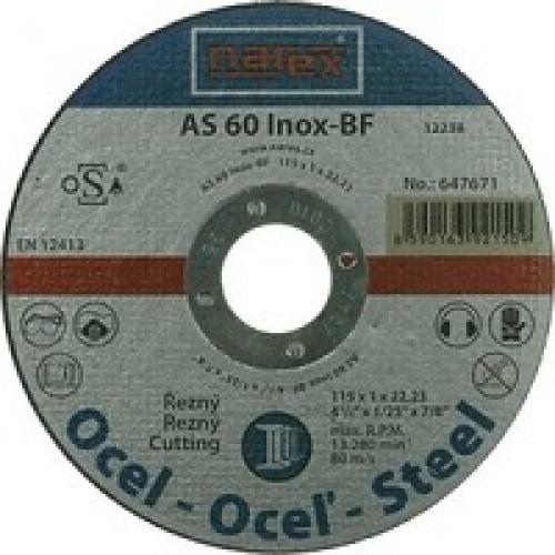 Výrobek Řezný kotouč na ocel rovný - NEREZ Narex 115 00647671