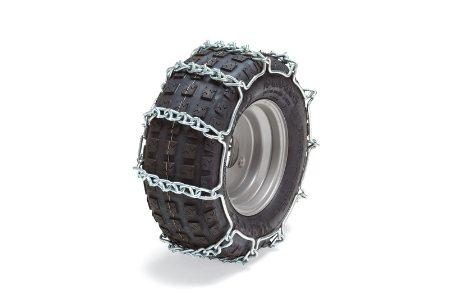Výrobek Sněhové řetězy 17x7,50-8 (pár) na ridery Stiga Park Pro 4WD