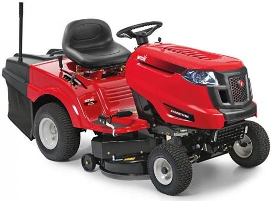 Výrobek MTD SMART RE 130 H - zahradní traktor se sběrným košem + ZDARMA adaptér radlice nebo doprava ZDARMA !