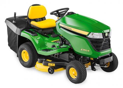Výrobek Zahradní (komunální) traktor JOHN DEERE X 350 R s košem (zadní výhoz)
