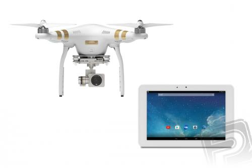 Výrobek Dron DJI Phantom 3 Professional + 2560*1600 9`` HD Tablet