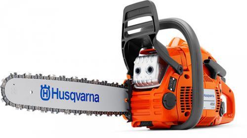 Výrobek Motorová řetězová pila Husqvarna 450 (lišta a řetěz 15, .325 palců) - LAST MINUTE AKCE - SLEVA !