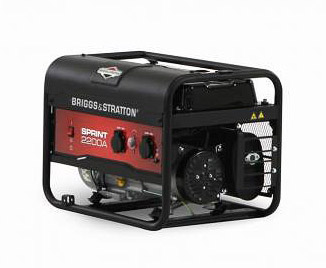 VARI Elektrocentrála Briggs Stratton Sprint 2200 A - MEGA AKCE - SLEVA + ZDARMA zprovoznění !