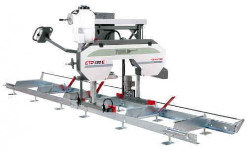 Výrobek Kmenová pásová pila Pilous Forestor CTR 550 E na zpracování dřeva (s posuvem) - AKCE - SLEVA !