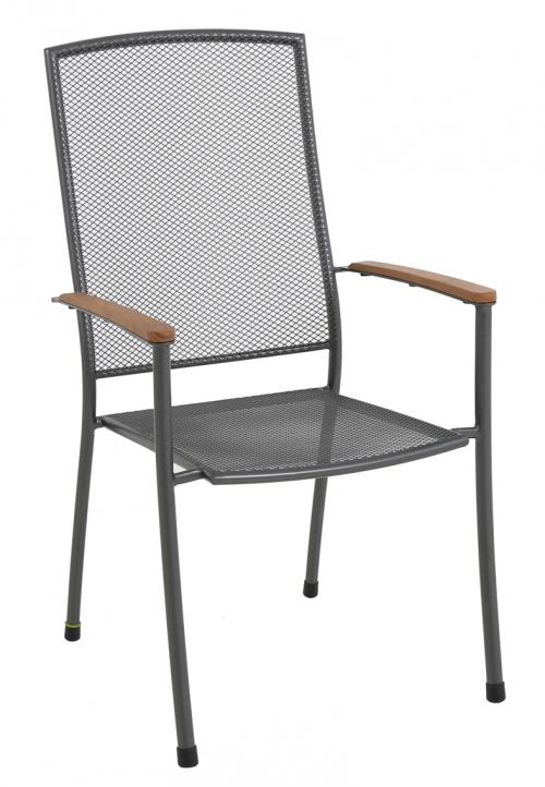 Výrobek MWH Masao - stohovatelná židle z tahokovu 66,5 x 57,5 x 101 cm