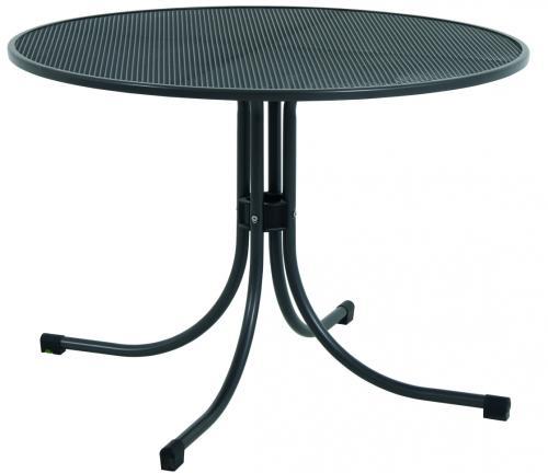 Výrobek MWH Universal 105 - univerzální kulatý jídelní stůl z tahokovu pr. 105 cm / 74 cm