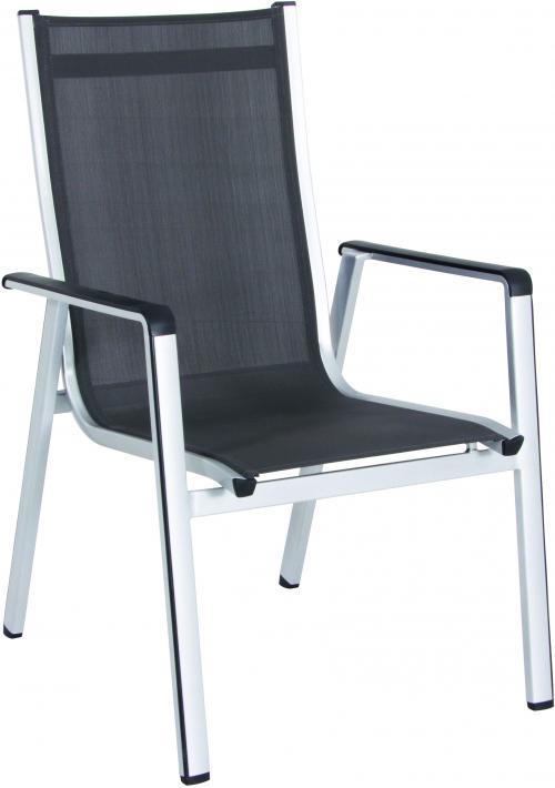 Výrobek MWH Elements - hliníková stohovatelná židle 69 x 64 x 98 cm