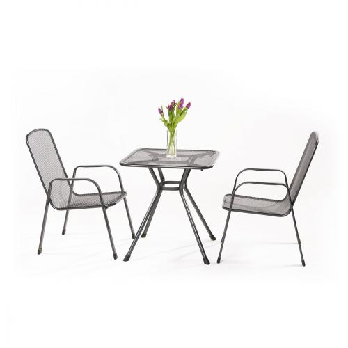 Výrobek MWH Sabi 2+ - sestava nábytku z tahokovu (2x židle Savoy Basic, 1x stůl Tavio 70)