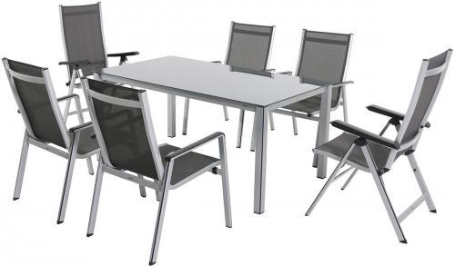 Výrobek Garland Elements 6+ - sestava nábytku (1x stůl Elements Creatop-Lite + 4x stoh. + 2x pol. židle Elements)