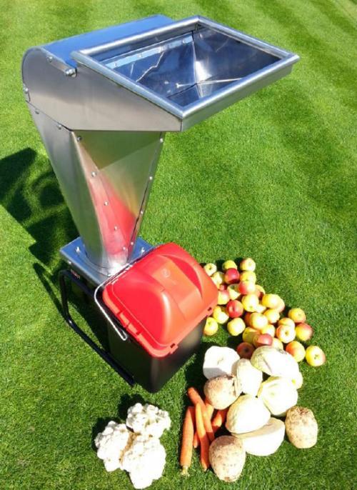 Výrobek Elektrický drtič ovoce VARES Fruit SHARK MEGALODON 2,5 kW - SLEVA + ZDARMA doprava !