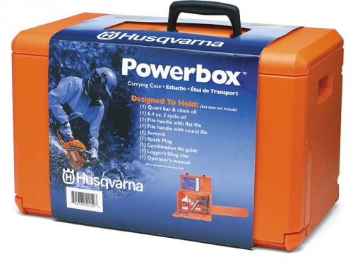 Výrobek Box / kufr pro řetězové pily Husqvarna 120, 135, 236, 435, 440, 445, 445e, 450, 450e, 455e, 545, 550XP, 550XPG, 560XP, 560XPG, 555, 562, 365, 372XP, 5