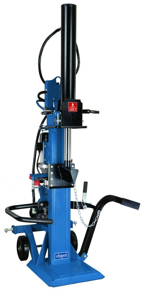 Výrobek Scheppach HL 2500 GM - profesionální hybridní štípač na dřevo 25 t + doprava ZDARMA !
