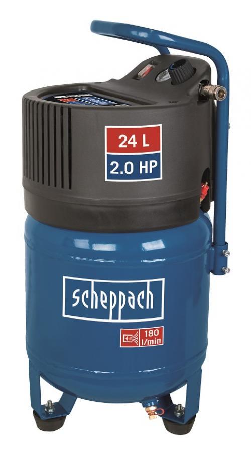 Výrobek Scheppach HC 24 V - bezolejový vertikální kompresor + ZDARMA doprava !
