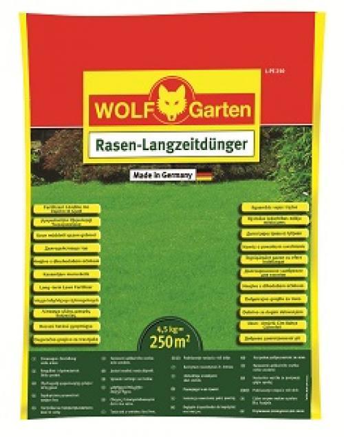 Výrobek Trávníkové hnojivo univerzální Wolf- Garten L-PE 250
