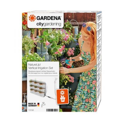 Výrobek Gardena NatureUp! Zavlažovací sada vertikální - vodovodní kohoutek  13156-20