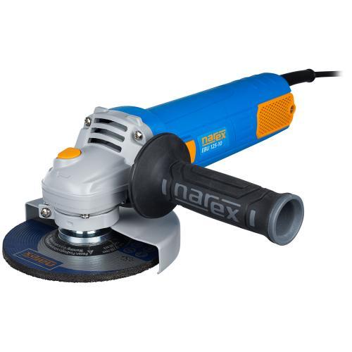 Výrobek Obratná úhlová bruska SLIMDESIGN s univerzálním použitím Narex EBU 125-10
