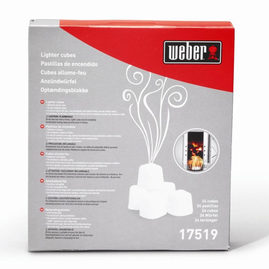 Výrobek Weber Podpalovací kostky - 24 ks v balení