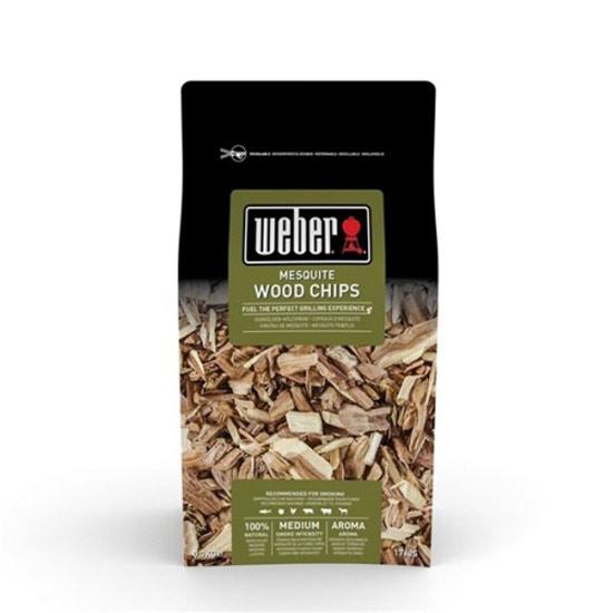 Výrobek Dřevěné lupínky Weber MESQUITE - 700g