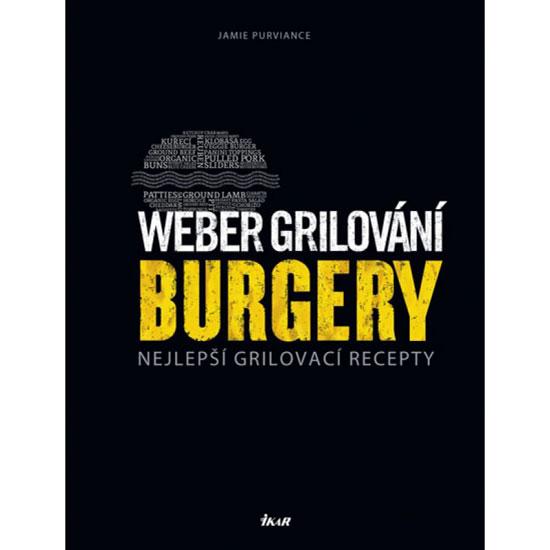 Výrobek Weber kniha grilování: Burger CZ
