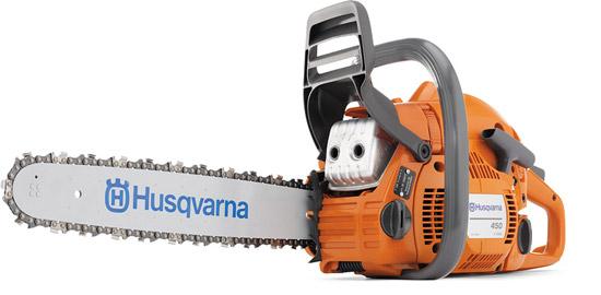Výrobek Motorová řetězová pila Husqvarna 450e (lišta a řetěz 15, .325 palců)