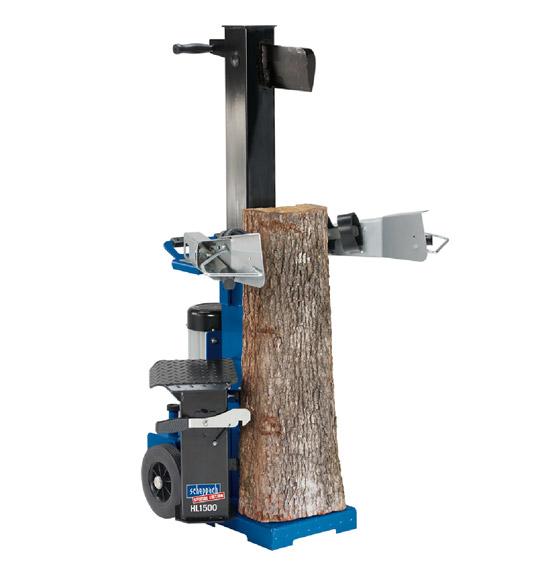 Výrobek Scheppach HL 1500 štípačka na dřevo / štípač dřeva 15 t 400 V - MEGA SLEVA + doprava ZDARMA !