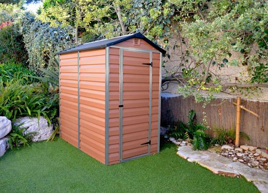 Výrobek Palram Skylight 4x6 hnědý - zahradní domek