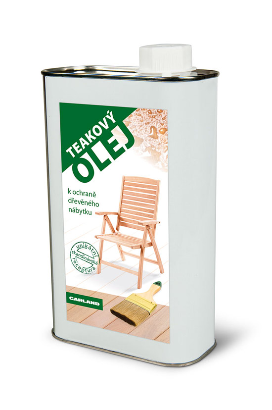 Výrobek Teakový olej 1l