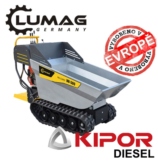 Výrobek Profi minidumper Lumag VH500 D KIPOR diesel motor