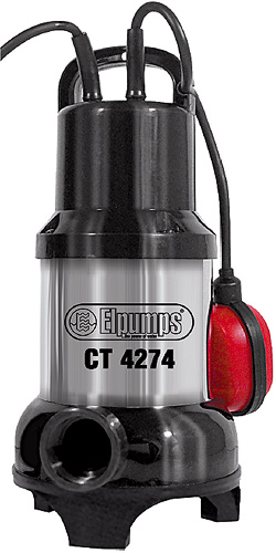 Výrobek Elpumps CT 4274 univerzální ponorné kalové čerpadlo + ZDARMA doprava !