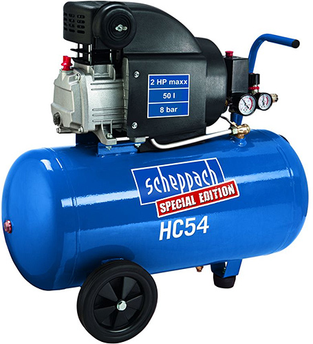 Výrobek Scheppach HC 54 olejový kompresor 8 barů + ZDARMA doprava !