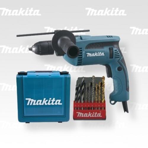 Výrobek Elektronická příklepová vrtačka Makita HP 1641 K 1 X