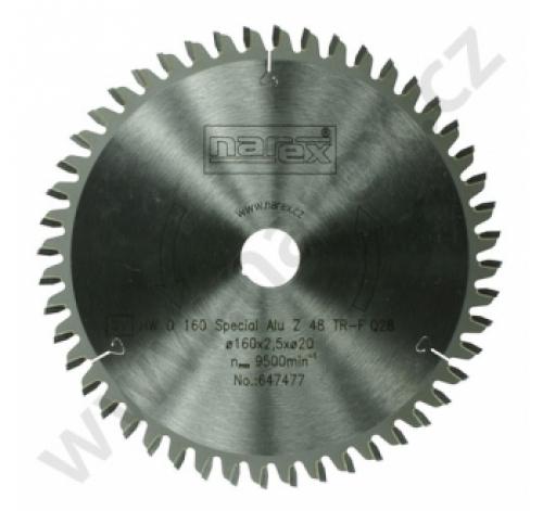 Výrobek Pilový kotouč Narex Special Alu 160×2.5×20 48TFZ
