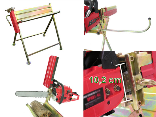 Výrobek Koza na řezání dřeva s držákem řetězové pily Magg 120009 (zinkovaná) - SKLADEM ihned k odběru !!!