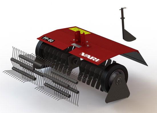 Výrobek VARI Vertikutační set PP-60 set pro přestavbu RP-T2 na PP-60