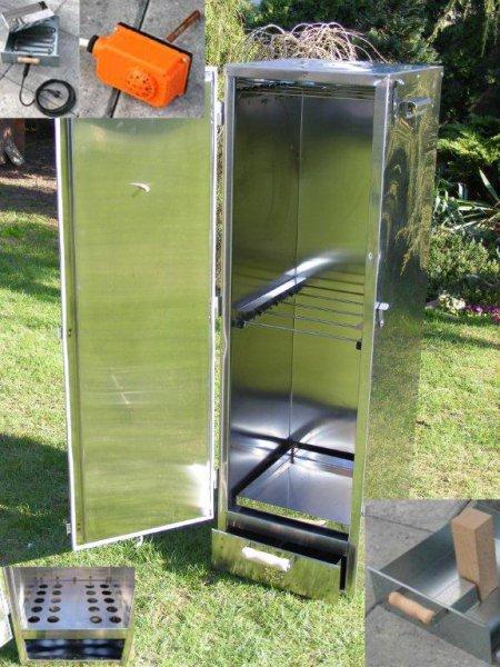 Výrobek Udírna izolovaná 1,25 m - NEREZ