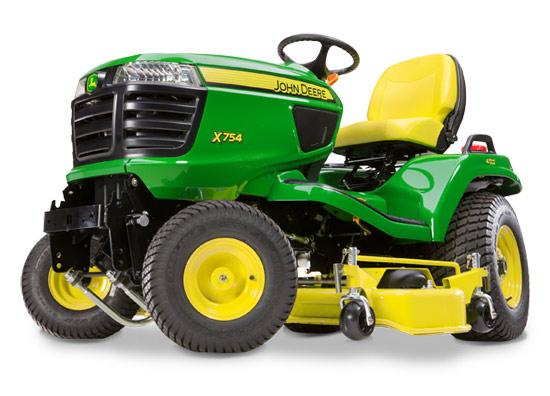 Výrobek Komunální traktor John Deere X 754 s diesel motorem Yanmar (bez sekání)