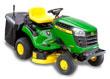 Zahradní traktor John Deere X 135 R s košem (zadní výhoz) - AKCE + ZDARMA DOPRAVA !
