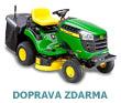 Zahradn� traktor John Deere X 135 R s ko�em (zadn� v�hoz) - AKCE + ZDARMA DOPRAVA !