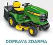Zahradn� (komun�ln�) traktor JOHN DEERE X 305 R s ko�em (zadn� v�hoz)