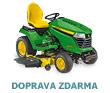 Zahradn� traktor John Deere X 590 se sek�n�m 54 A 137 cm a motorem Kawasaki (bo�n� v�hoz tr�vy)