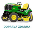 Komun�ln� traktor John Deere X 754 s diesel motorem Yanmar (bo�n� v�hoz tr�vy)