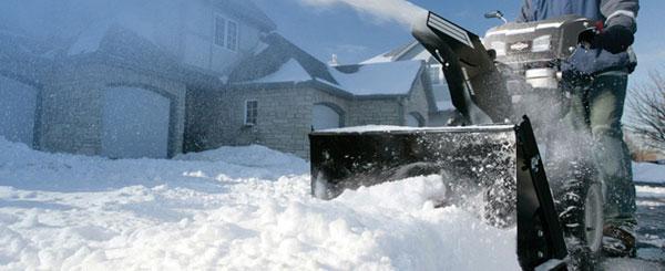 Motory, sněhové frézy, sekačky Briggs and Stratton