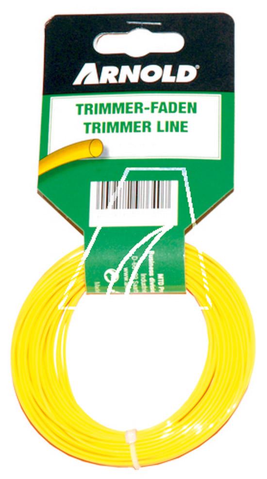 Výrobek MTD struna do vyžínače 15m / 2,0 mm