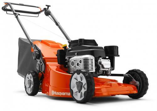 Husqvarna LC 551 SP benzínová zahradní sekačka na trávu s pojezdem (motor Kawasaki s tlakovým mazáním do svahu) - SLEVA + ZDARMA doprava !