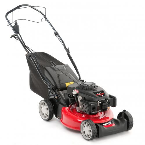 Výrobek MTD SMART 46 SPOE - travní sekačka s benzinovým motorem Thorx 55 ES, pojezdem a elektrostartem - SLEVA !