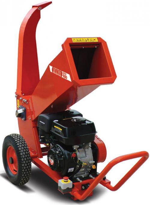 Výrobek Drtič větví (zahradního odpadu) GTM GTS 1300 G s benzínovým motorem SLEVA !