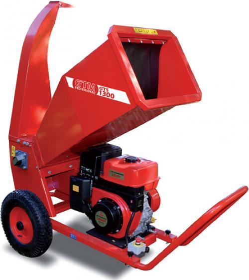 Výrobek Drtič větví (zahradního odpadu) GTM GTS 1300 M s benzínovým motorem + ZDARMA DOPRAVA !