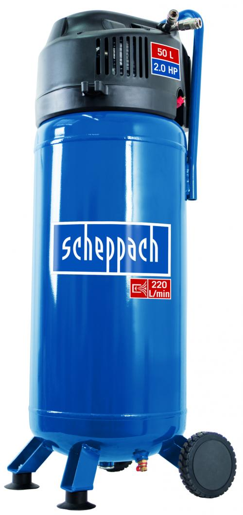 Výrobek Scheppach HC 51 V - bezolejový vertikální kompresor + ZDARMA doprava !