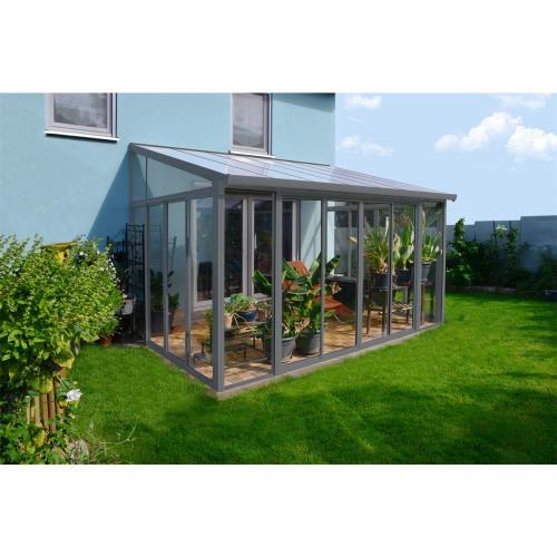 Výrobek Palram Torino 3 x 4,25 zimní zahrada šedá + ZDARMA doprava !